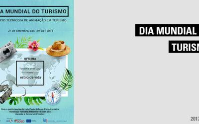 Dia Mundial do Turismo: oficina Turismo aventura como estilo de vida