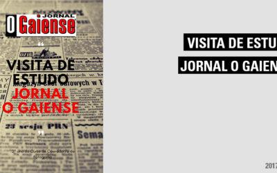Visita ao Jornal O Gaiense