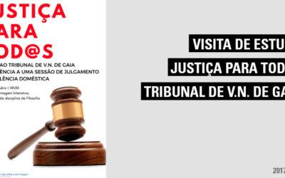 Programa Justiça para Todos – Assistência de uma sessão de Julgamento