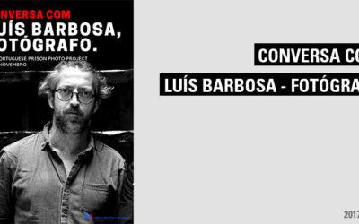 """Sessão com o fotógrafo Luís Barbosa, no âmbito da visita ao Centro Português de Fotografia (CPF) e à exposição """"The portuguese prison photo project""""."""