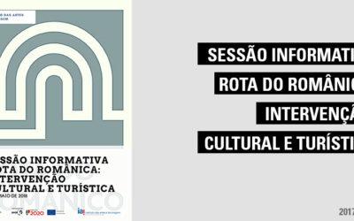 Sessão Informativa – Rota do Românica: Intervenção cultural e turística