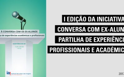 I Edição da Iniciativa à conversa com ex-alunos – partilha de experiências profissionais e académicas