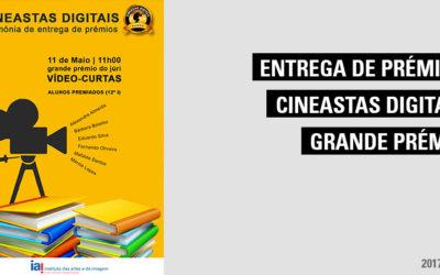 Cerimónia de Entrega de Prémios Cineastas Digitais-Grande Prémio do Júri