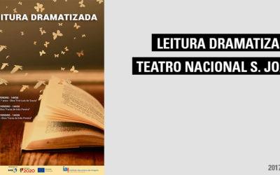 Leituras Dramatizadas no Teatro Nacional S. João