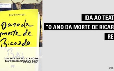 """Ida ao Teatro: """"O Ano da Morte de Ricardo Reis"""""""