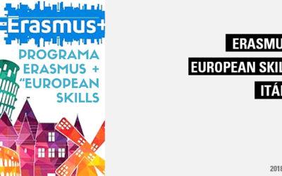 """Programa Erasmus+ – """"European Skills"""" – Itália"""