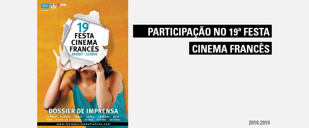 Participação no Festival de Cinema Francês