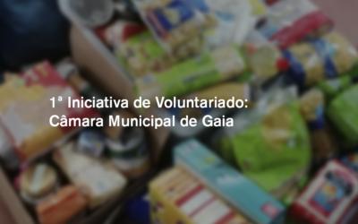 1.º Iniciativa de Voluntariado: Câmara Municipal de Gaia