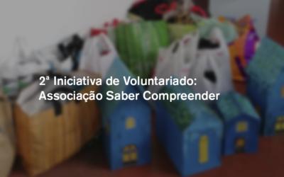 2.º Iniciativa de Voluntariado: Associação Saber Compreender