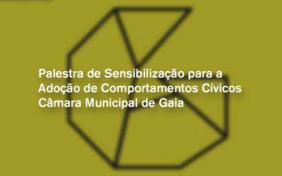Palestra de Sensibilização para a Adoção de Comportamentos Cívicos