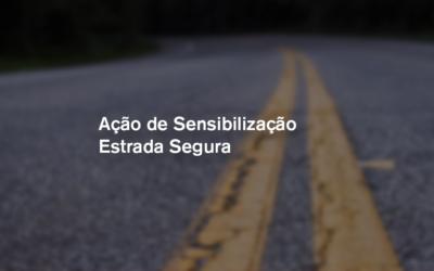 Ação de Sensibilização Estrada Segura