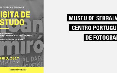 Visitade estudo a Serralves – Visita Guiada à Exposição de Joan Miró e Centro Português de Fotografia