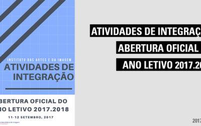 Atividades de Integração e Abertura Oficial do Ano Letivo 2017.2018