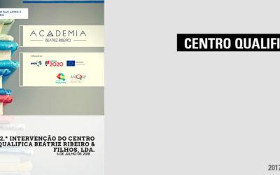 2.ª Intervenção do Centro QualificaBeatriz Ribeiro & Filhos, Lda.
