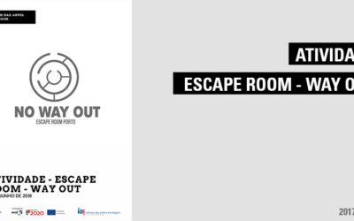 Atividade – Escape Room – Way Out