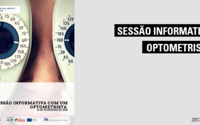Sessão Informativa com um Optometrista