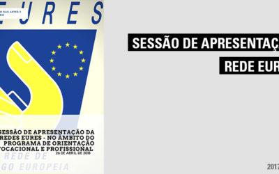 Sessão de Apresentação da Redes EURES – no âmbito do programa de orientação vocacional e profissional